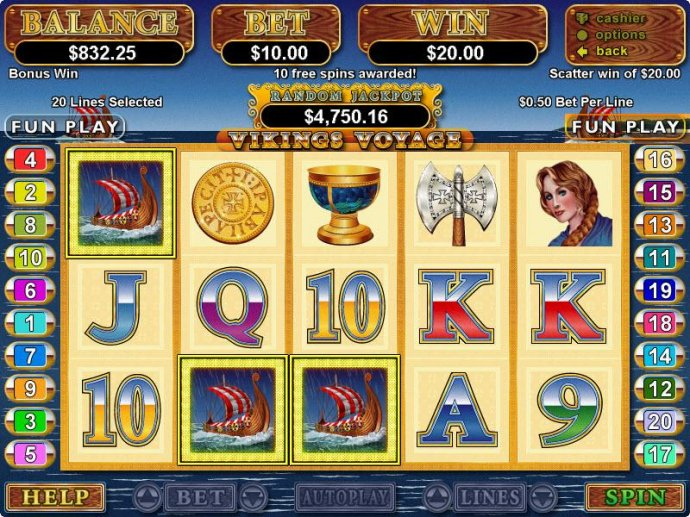 Viking's Voyage by No Deposit Casino Guide