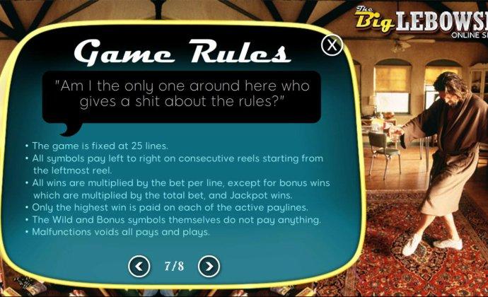 General Game Rules - No Deposit Casino Guide