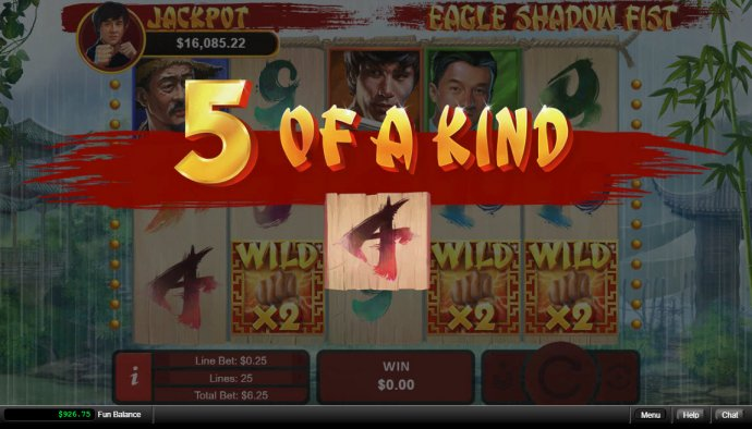 Eagle Shadow Fist by No Deposit Casino Guide