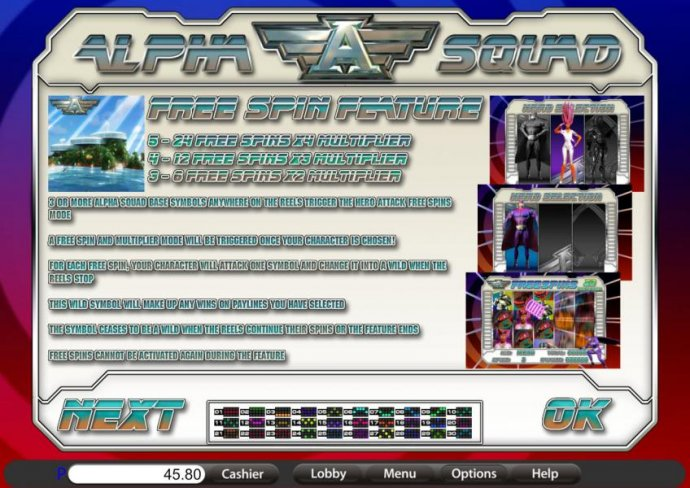 free spins feature rules and payline diagrams - No Deposit Casino Guide
