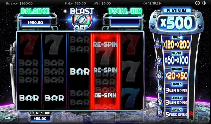 Blast Off screenshot