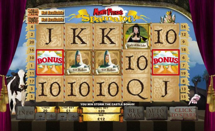 Monty Python's Spamalot by No Deposit Casino Guide
