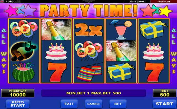 Images of Party Time