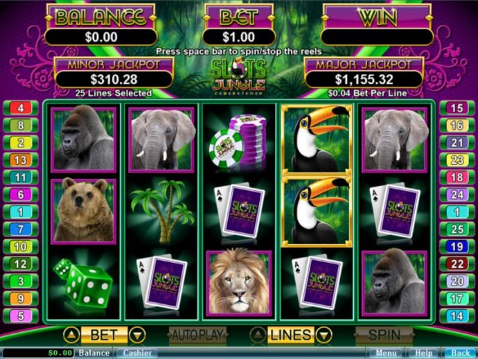 Slots Jungle by No Deposit Casino Guide