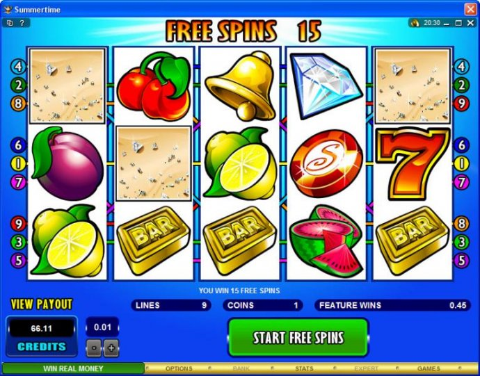 Summertime by No Deposit Casino Guide