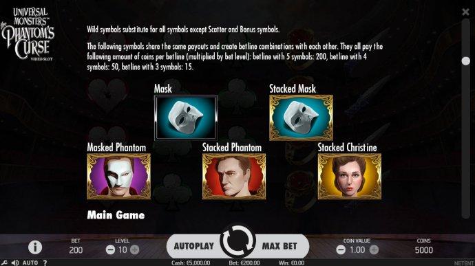 Universal Monsters The Phantom's Curse screenshot