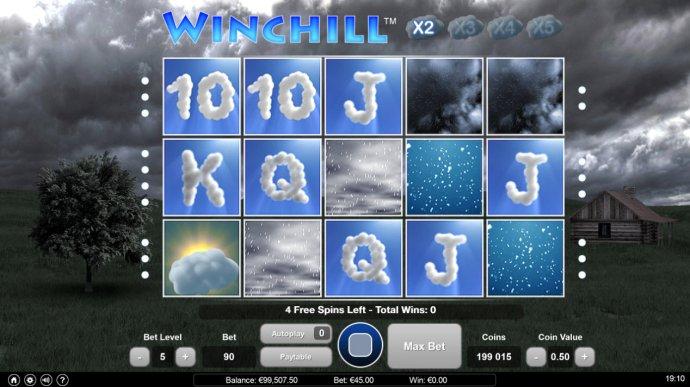 No Deposit Casino Guide image of Win Chill