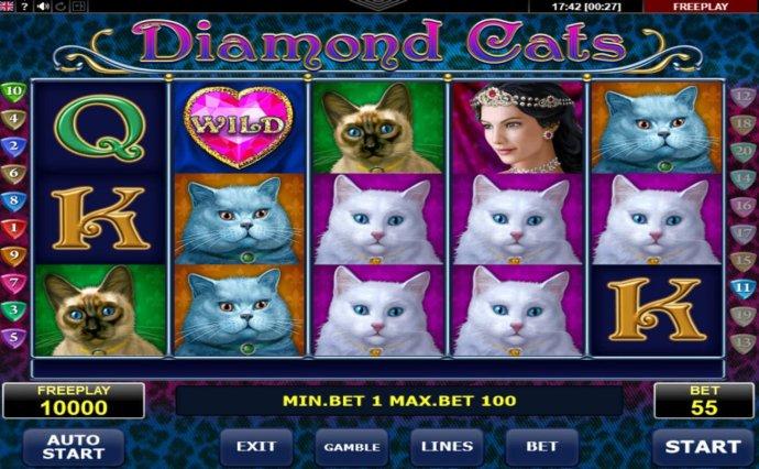 Diamond Cats by No Deposit Casino Guide