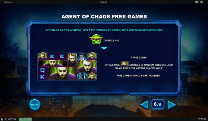 The Dark Knight by No Deposit Casino Guide