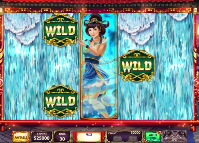 Waterfall Feature Activated by No Deposit Casino Guide