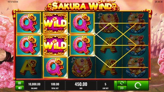 No Deposit Casino Guide image of Sakura Wind