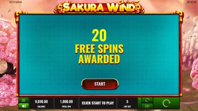 Sakura Wind by No Deposit Casino Guide