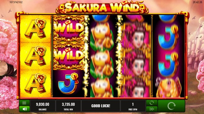 Sakura Wind screenshot