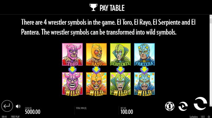 Images of Luchadora