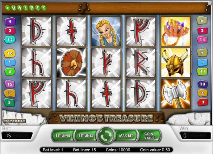 No Deposit Casino Guide image of Viking's Treasure