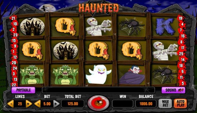 No Deposit Casino Guide image of Haunted