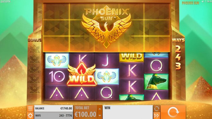 Phoenix Sun by No Deposit Casino Guide