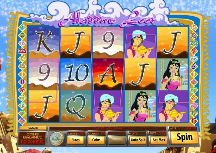Aladdin's Loot screenshot