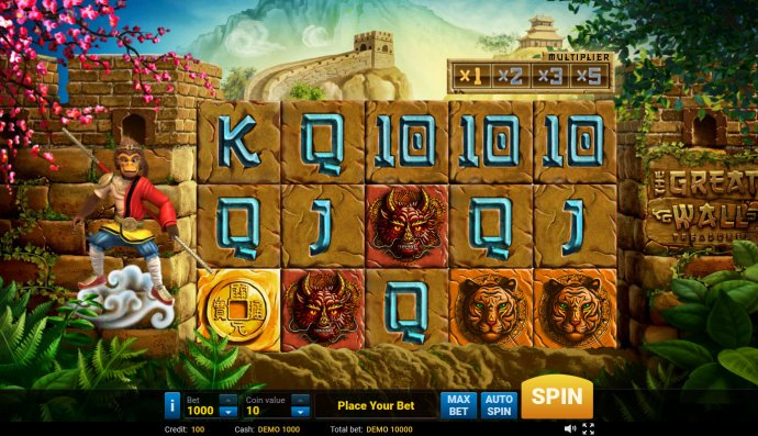 The Great Wall Treasures by No Deposit Casino Guide