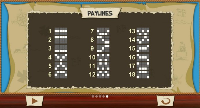 Paylines 1-18 by No Deposit Casino Guide