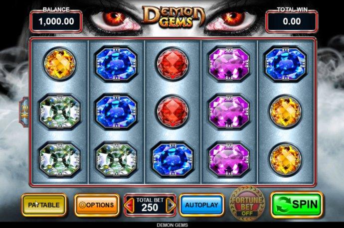 No Deposit Casino Guide image of Demon Gems