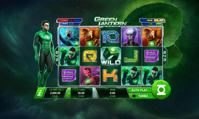 No Deposit Casino Guide - A crime fighting superhero themed main game board featuring five reels and 243 winning combinations with a progressive jackpot max payout