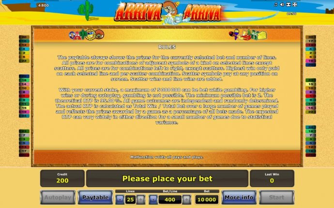 No Deposit Casino Guide image of Arriva Arriva