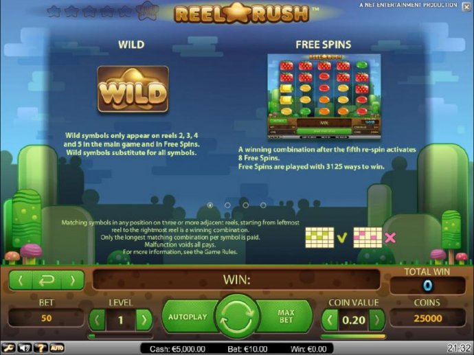 Reel Rush by No Deposit Casino Guide