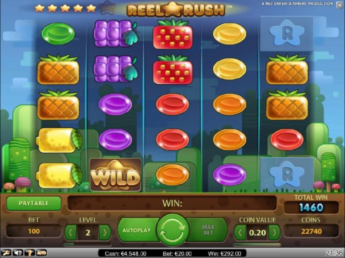 No Deposit Casino Guide image of Reel Rush