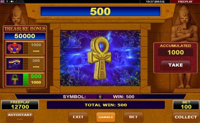 Scarab Treasure screenshot