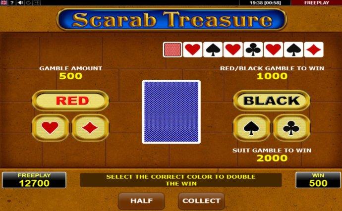Scarab Treasure by No Deposit Casino Guide