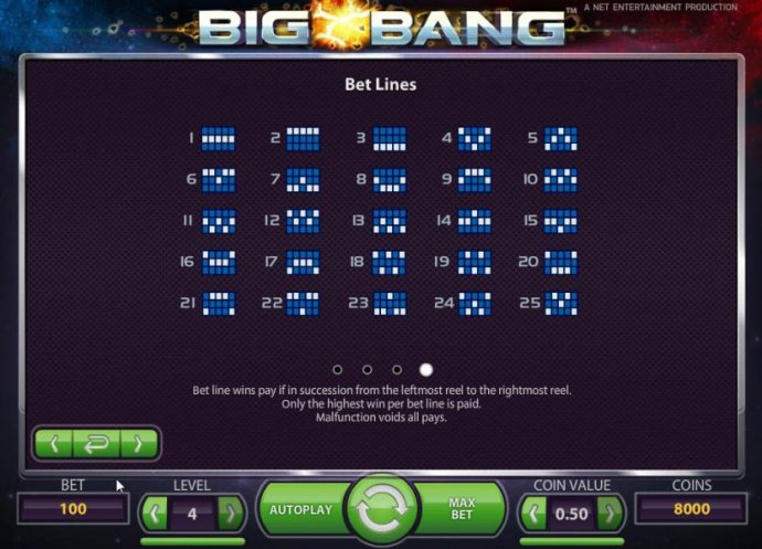 Big Bang by No Deposit Casino Guide