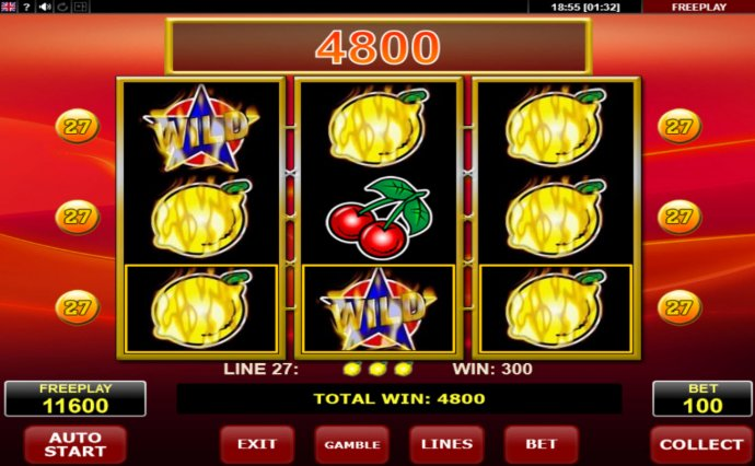 No Deposit Casino Guide image of Hot 27