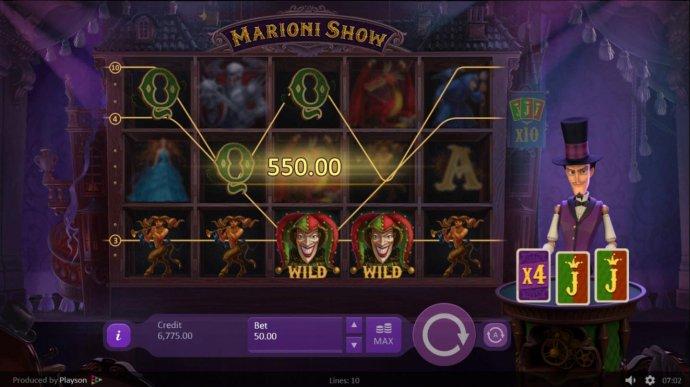 Croupier deals an X4 multiplier. by No Deposit Casino Guide