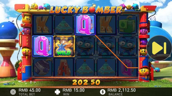 Lucky Bomber by No Deposit Casino Guide