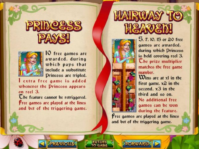 No Deposit Casino Guide image of Hairway to Heaven