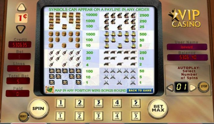 Buccaneer's Bounty by No Deposit Casino Guide