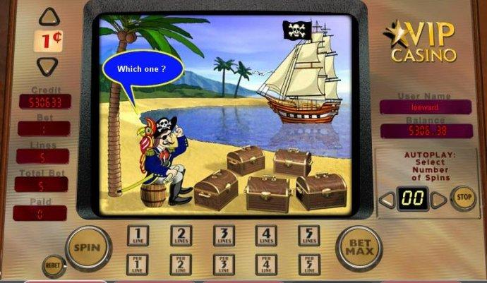 Buccaneer's Bounty screenshot