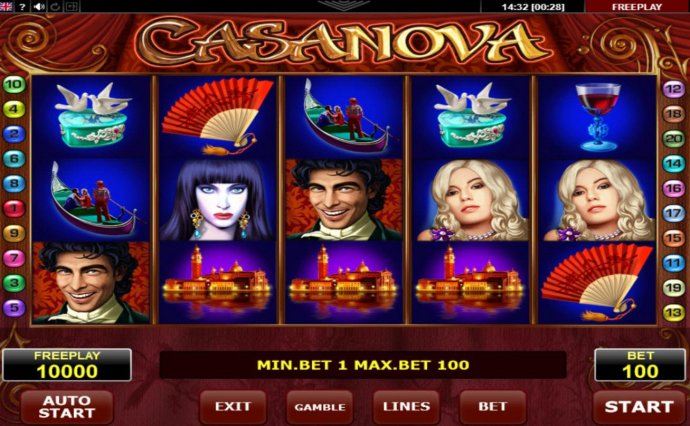 No Deposit Casino Guide image of Casanova