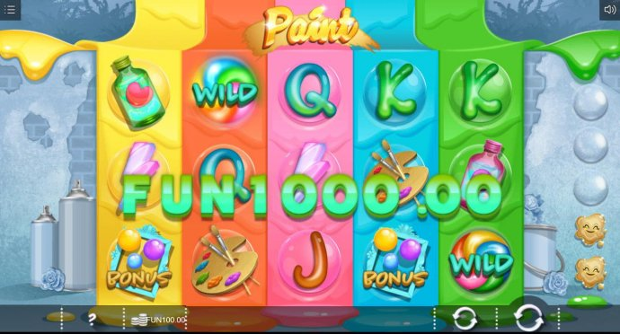 A lightning bolt three of a kind triggers a 1000.00 big win. by No Deposit Casino Guide