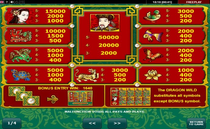 Dragon's Pearl by No Deposit Casino Guide