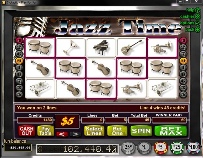Jazz Time by No Deposit Casino Guide