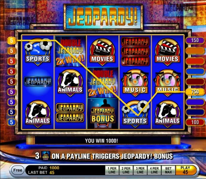No Deposit Casino Guide image of Jeopardy