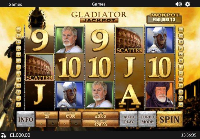 Gladiator Jackpot by No Deposit Casino Guide