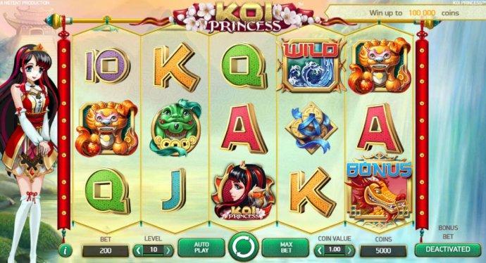 Koi Princess by No Deposit Casino Guide