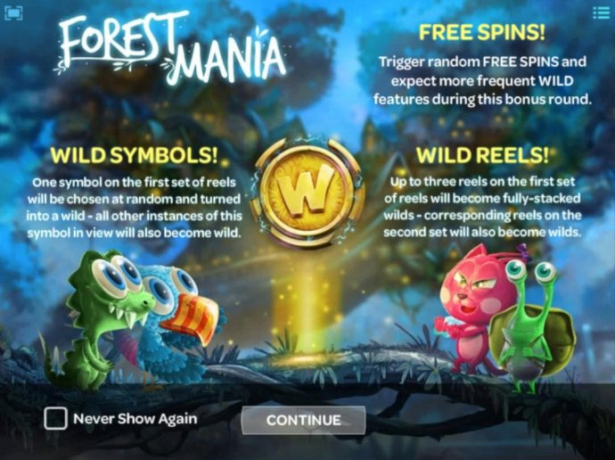 Game features include: Wild Symbols, Free Spins and Wild Reels! by No Deposit Casino Guide