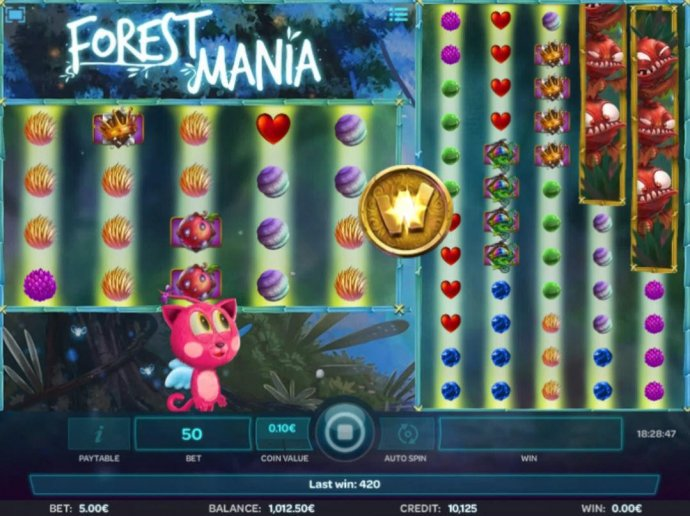No Deposit Casino Guide image of Forest Mania