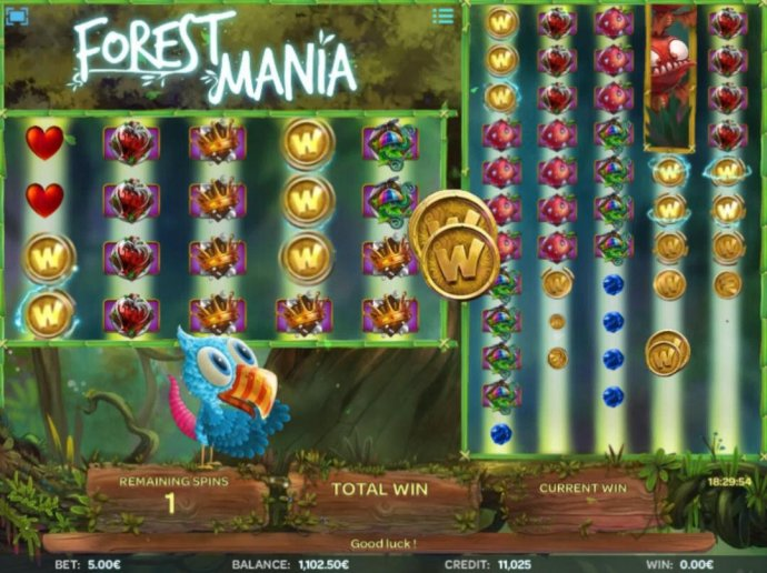 Forest Mania by No Deposit Casino Guide
