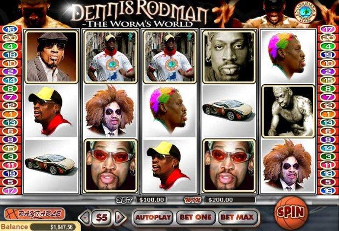 Dennis Rodman by No Deposit Casino Guide