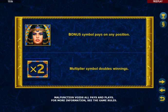 Enchanted Cleopatra screenshot